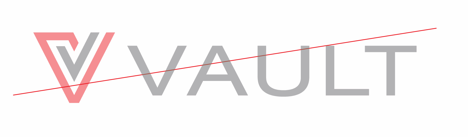 Vault logo misuse of transparency