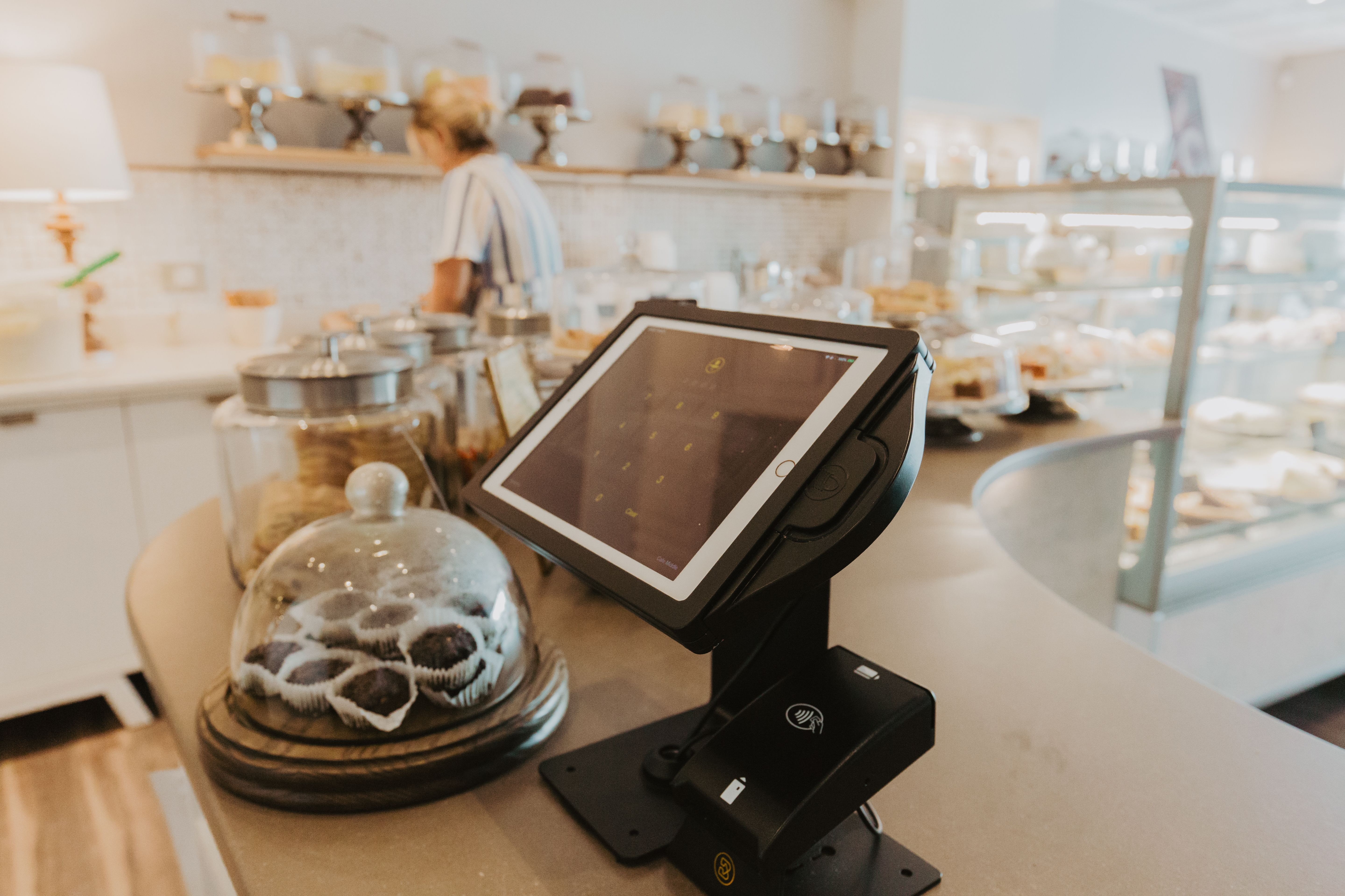 Vault Pro tablet enclosure in bakery